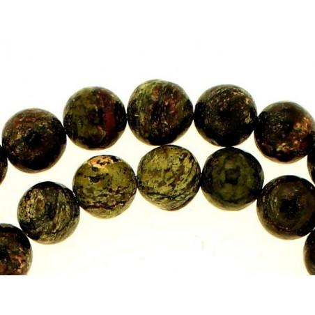 Fil de 48 perles rondes 8mm 8 mm en sugilite surgilite