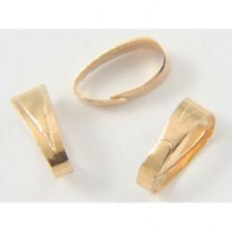 20 bélières accroches dorées comme anneaux pr pendentif