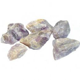 Lot de 400 grammes d ' améthyste brute d' Inde pierres brutes