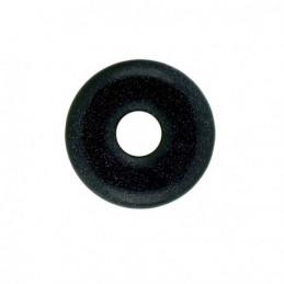 Donut pendentif pi chinois en pierre de nuit synth 30mm 30 mm diam