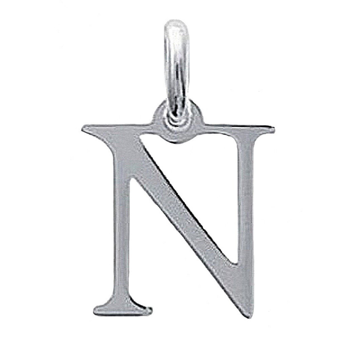 Pendentif initiale LettreG en Argent 925 Mixte Neuf