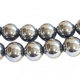 Fil de 46 perles rondes 8mm 8 mm en terahertz synthétique