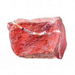 Lot de 400 grammes de Jaspe rouge d'Afrique du Sud pierres brutes
