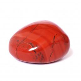 Lot de 200 grammes de pierres roulées en jaspe rouge