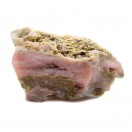 Lot de 400 grammes d'Opale rose du Pérou pierres brutes