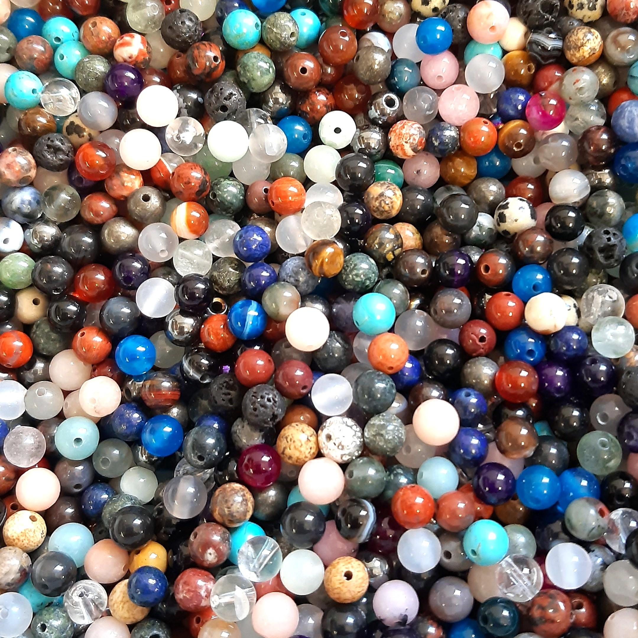 10 perles semi précieuses gemmes AMAZONITES 8mm PANACHE MAT ////73