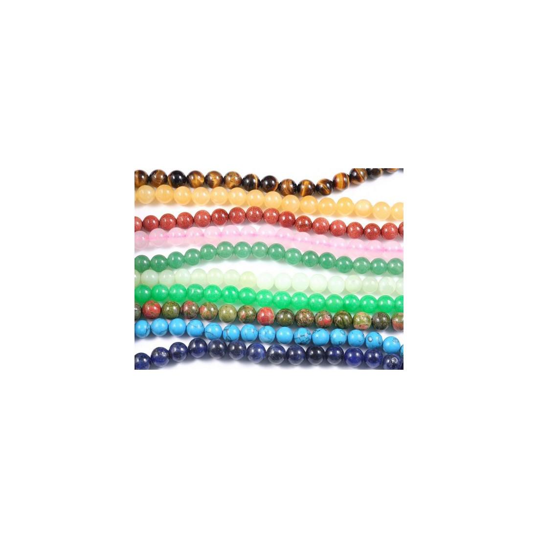 perles semi precieuses