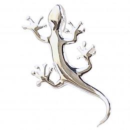Pendentif Salamandre lézard gecko en argent 925°/00 + chaîne S2