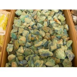 Lot de 400 grammes de Malachite azurite des USA pierres brutes
