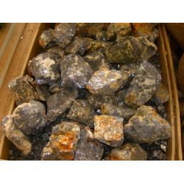 Lot de 400 grammes de Galène du Maroc pierres brutes