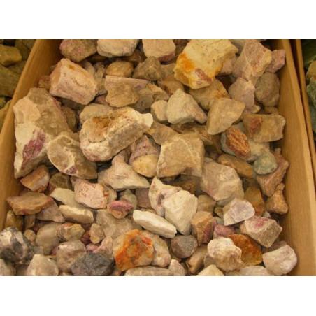 Lot de 400 grammes de Tourmaline Rose ou Rubellite pierres brutes