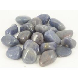 Lot de 200gr de Pierres roulées en Quartz Bleu ou quartz lazuli
