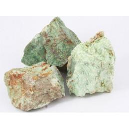 Lot de 200 grammes de Chrysoprase de Madagascar pierres brutes
