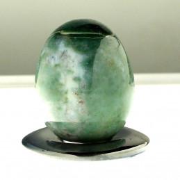 Oeuf en jadeite jade 4cm de haut