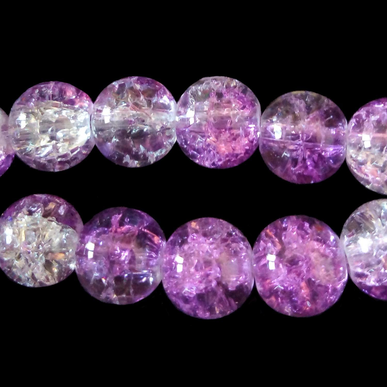 plusieurs couleurs disponibles 100 x perles de verre effet tacheté-Rond 4 mm